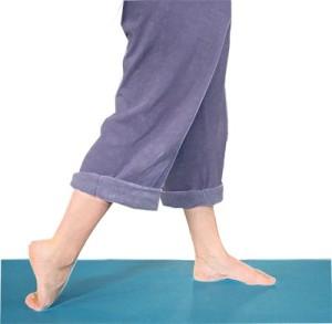 top of foot